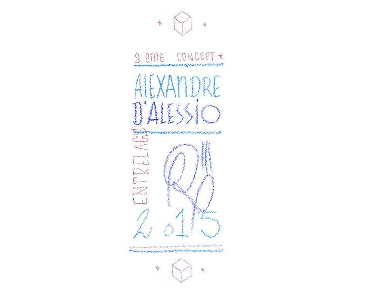 """L'artiste Alexandre d'Alessio du collectif 9ème Concept, présente son exposition """"Entrelacs"""" à Tulavu Le Cube à Marseille - Installation Éphémère visible jusqu'au 10 décembre"""