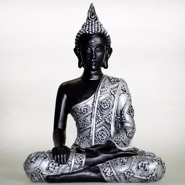 silver Buddha, perfect piece for your decoration!   -Buddha statue