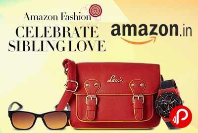 Amazon #SiblingsLove is offering #Deal #Gifts for #Rakhi. Amazon Online #shopping for #Siblings_Love from a great selection at Fashion Store.  http://www.paisebachaoindia.com/the-online-rakhi-collection-amazon/