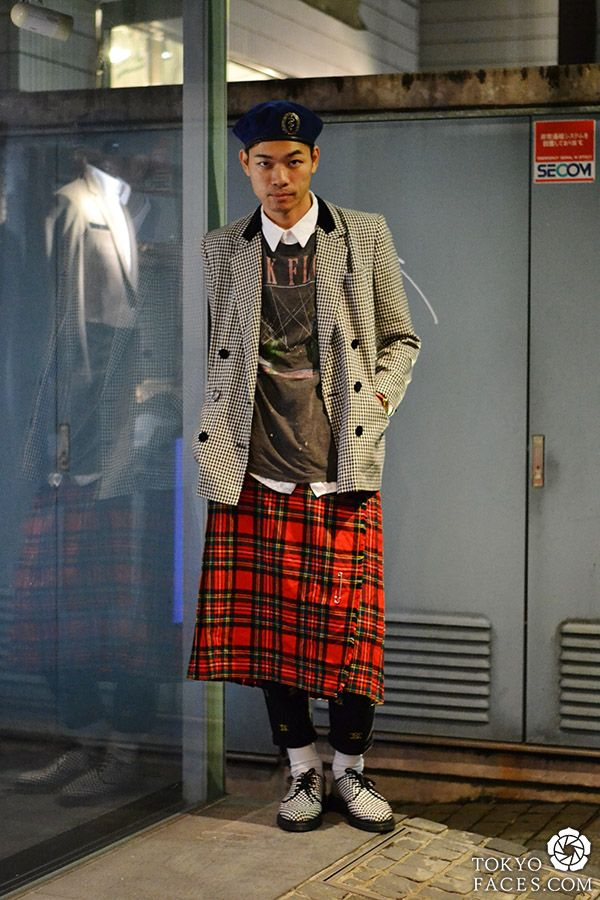 tokyo men's street fashion