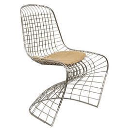 Neo Chair  Industrial, Transitional, MidCentury  Modern, Metal, Upholstery  Fabric, Dining Chair by Jayson Home