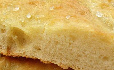 Klassisk Focaccia - Italiensk brød - WWW.ITALY.DK