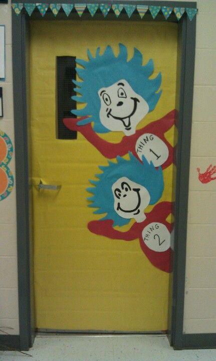 95 best Dr. Seuss door decorations images on Pinterest ...