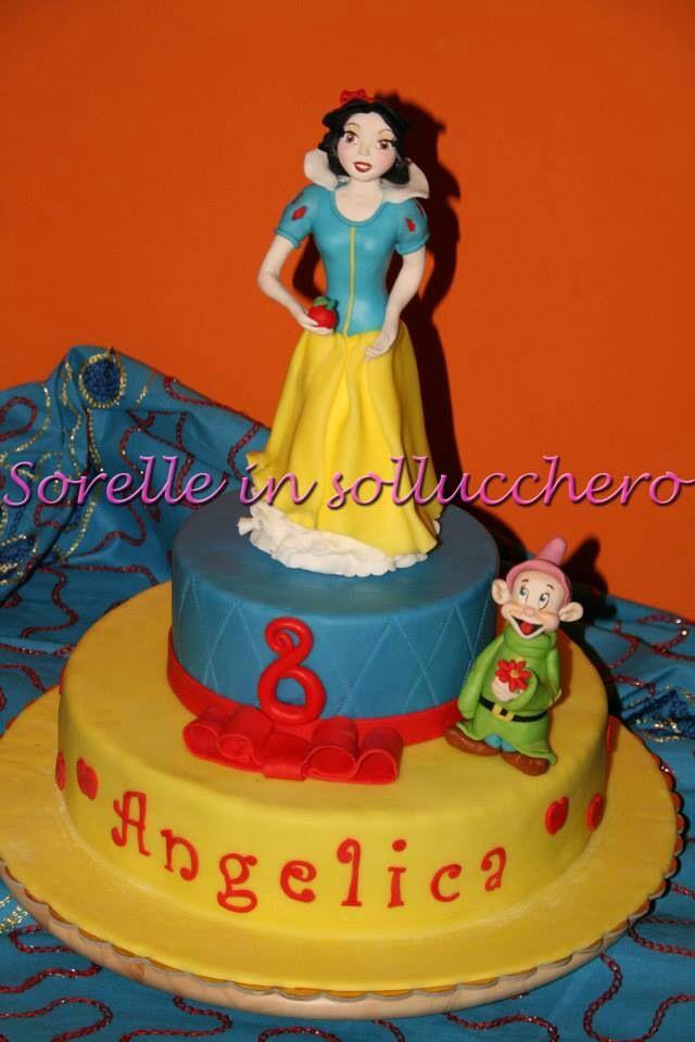 Snow white cake........torta Biancaneve