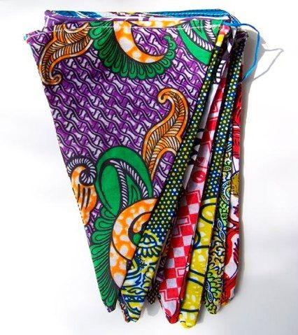 names of african fabrics | Tagged as: African prints , bunting , bunting for children's rooms ...