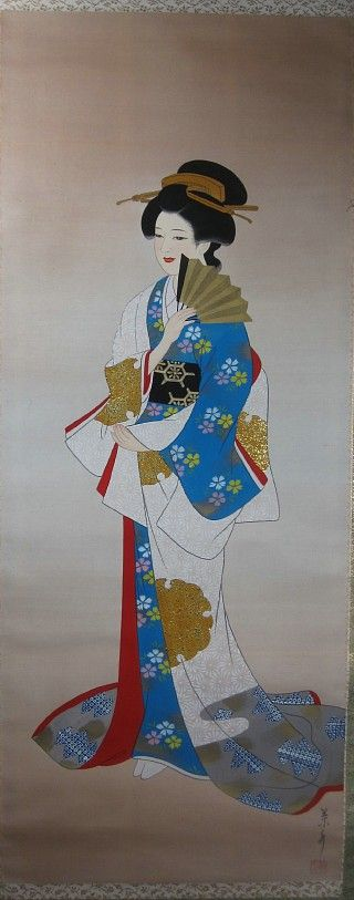 Hanging Scroll And Fine Arts #146521