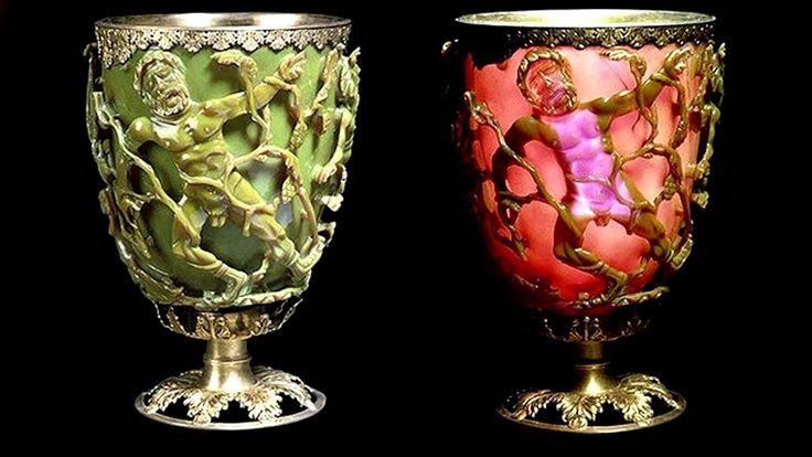 """La reliquia romana de 1.600 años de antigüedad, conservada en el Museo Británico de Londres, causa fascinación por su capacidad de verse en verde y rojo. La explicación del increíble funcionamiento de """"la pieza de vidrio más espectacular del período"""""""