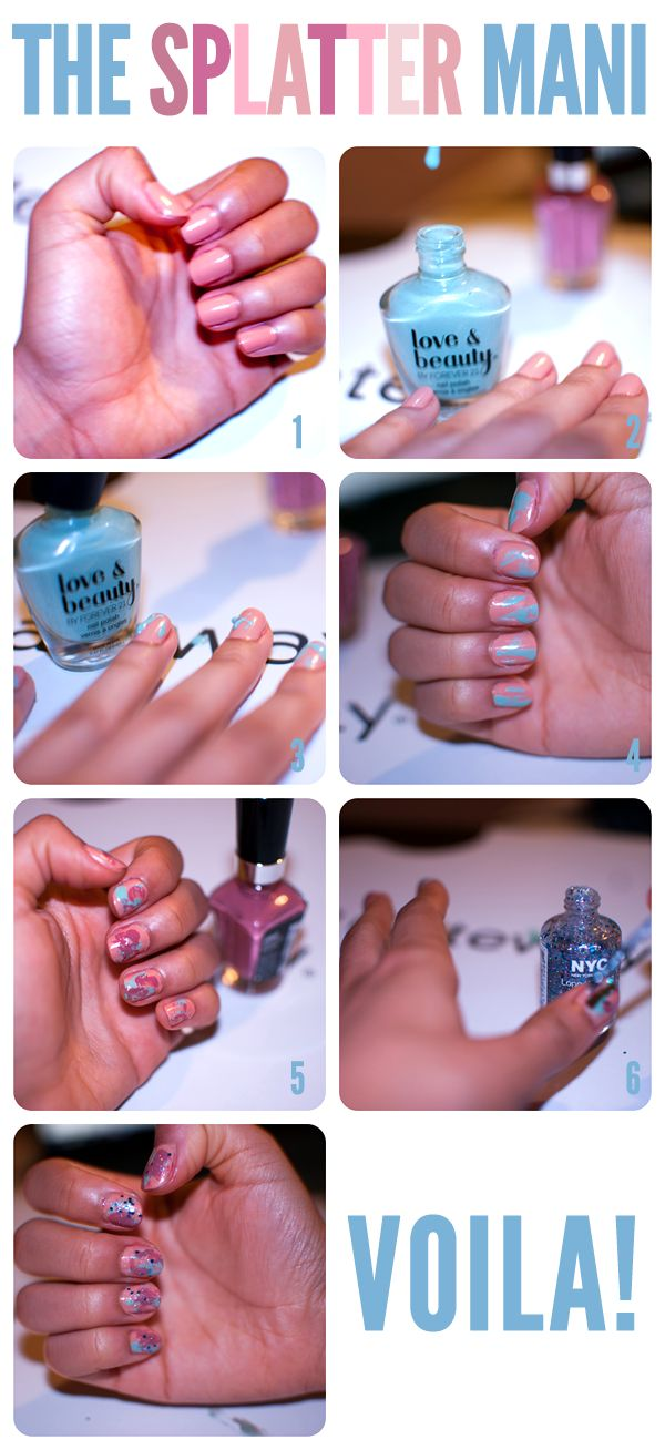 769 best nail tutorials images on pinterest nail scissors diy 12 simple and easy nail tutorials prinsesfo Choice Image