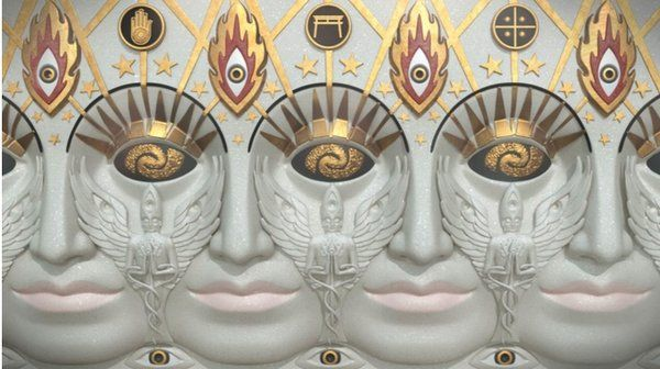 """Alex Grey sur Twitter : """"By surrounding the entire building is one giant Godhead of many faces Entheon portrays the unity of spiritual paths. https://t.co/Wqlqdx5i1L"""""""
