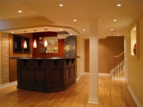 small basement bar designs