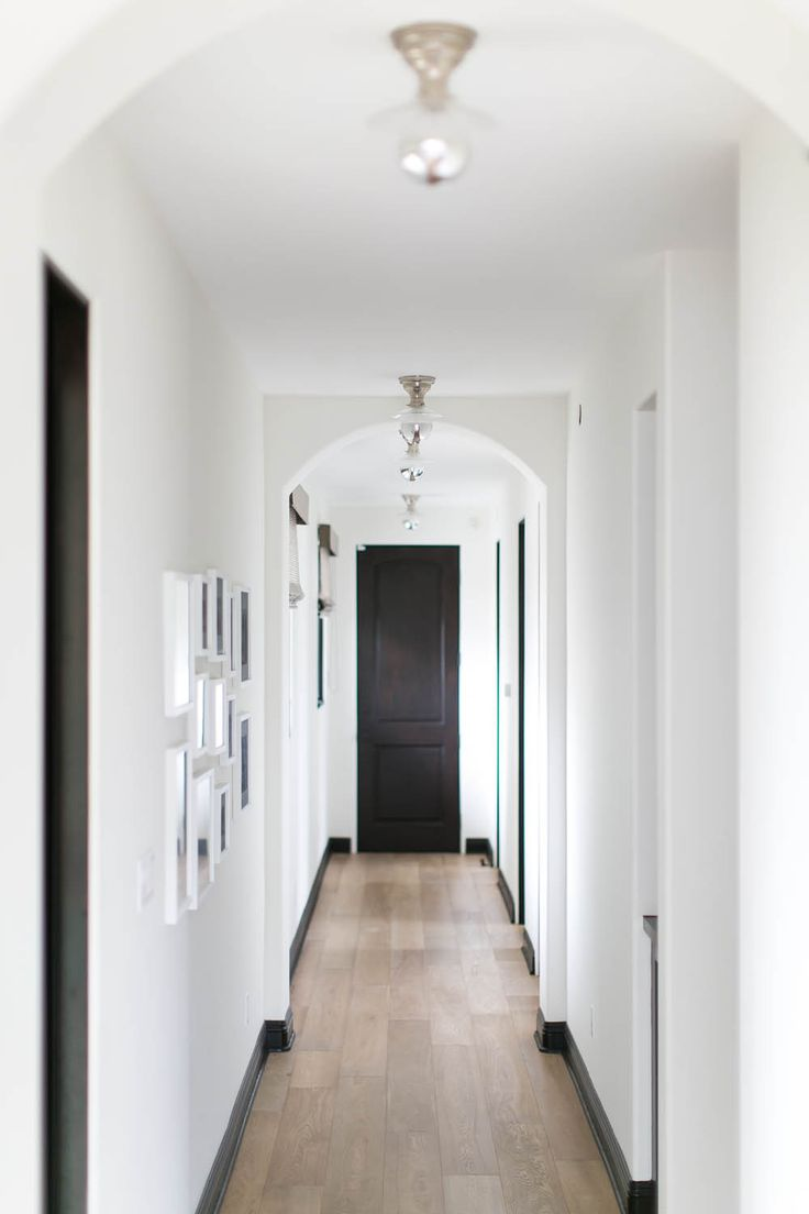 Long white and black hallway 307 best