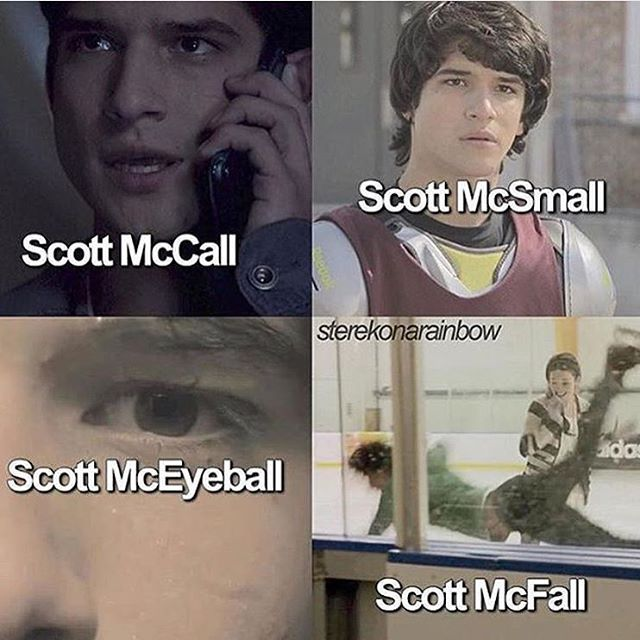 Teen Wolf Scott McCall puns << I can't believe I laughed at this... XD