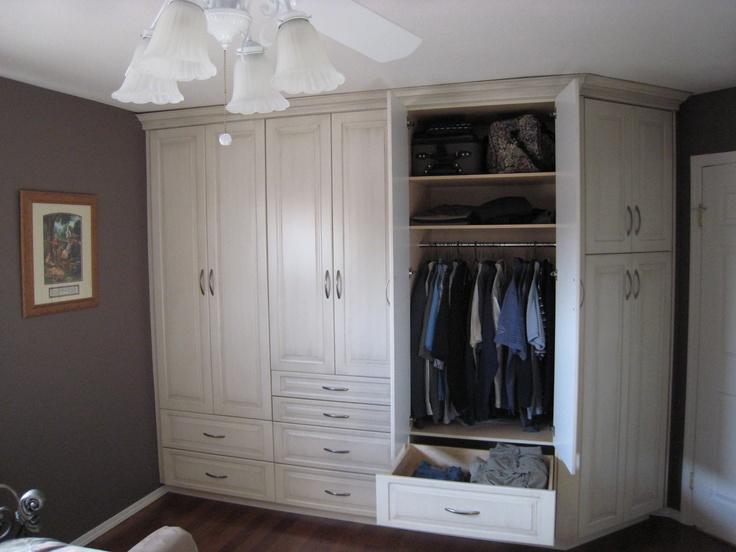 built in closet - Bedroom Closet Ideas