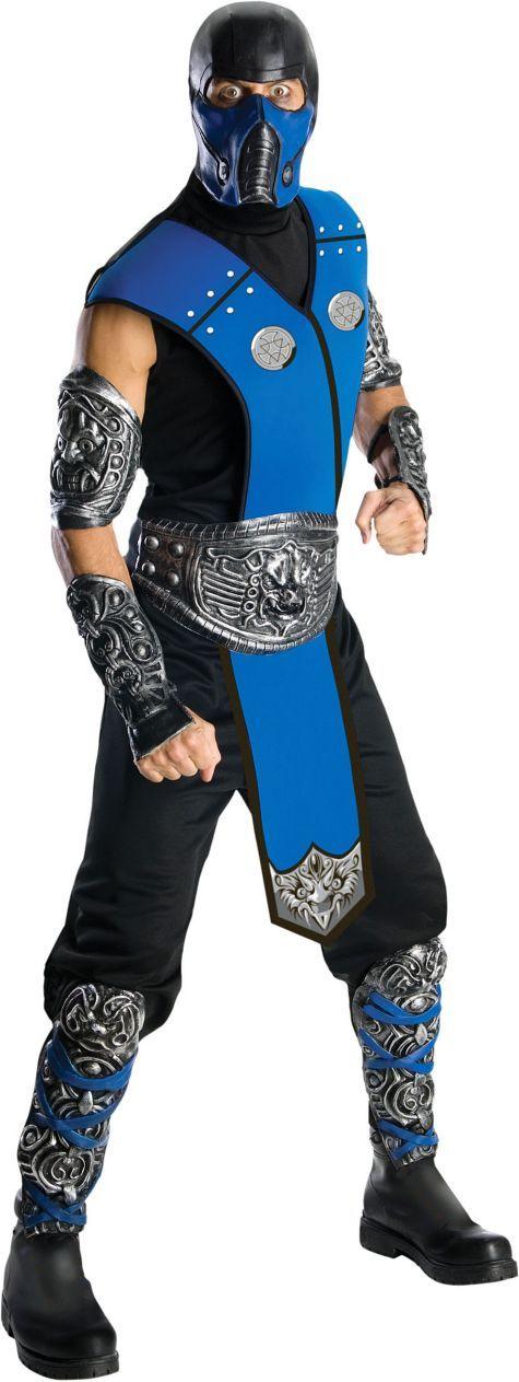 Mortal Kombat Sub-Zero Costume for Adults - Party City