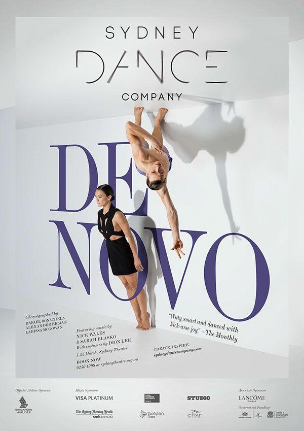 Sydney Dance Company - De Novo on Behance