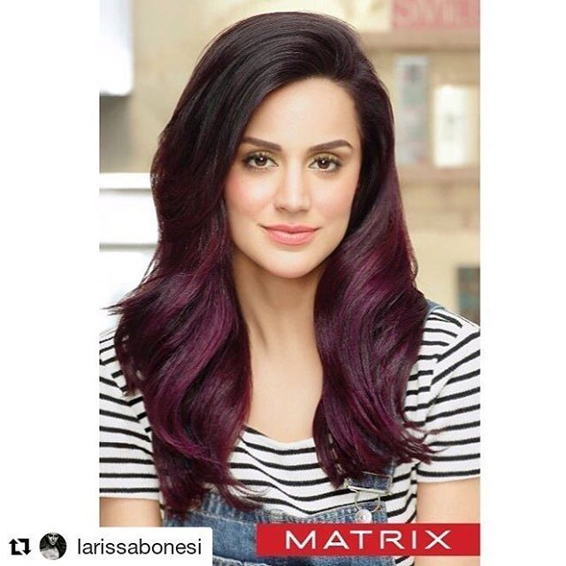 @larissabonesi The most awaited hair color for 2018 its finally here!! Im very happy to share my new campaign for @matrix hair color part of @lorealhair @lorealindia family!  Its a pleasure to be part of it! 3 colors melting on your way! I got my Blackberry Melt and you?  . . . #MatrixHair #MatrixColor #MatrixMelting #MatrixMelt #Loreal #LorealHair #LorealIndia #Hair #HairColors #GirlsJustWannaHaveFun #BlackBerry #Cherry #Caramel #MeltItLikeMatrix #Matrix