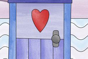 porta - disegno da colorare