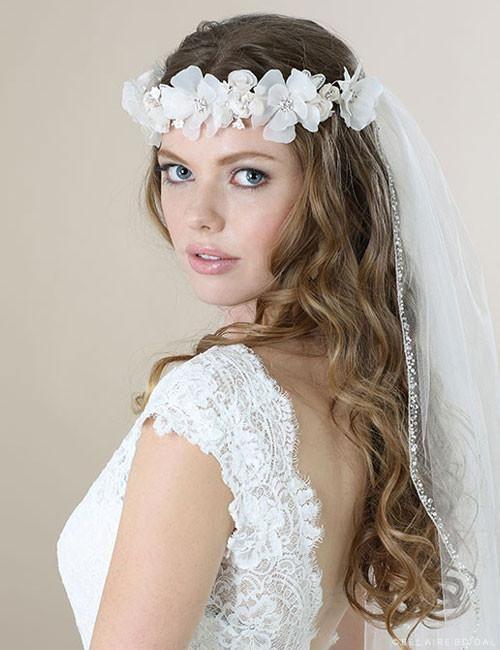 69fa9478180ca Bel Aire Narrow Beaded Edge V7056 Wedding Veil   wedding   Wedding ...