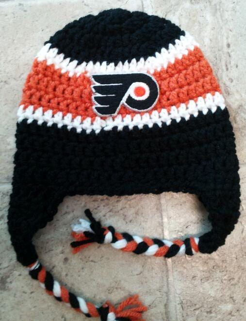 Crochet Hockey Afghan Pattern : 1000+ images about Philadelphia Flyers on Pinterest ...