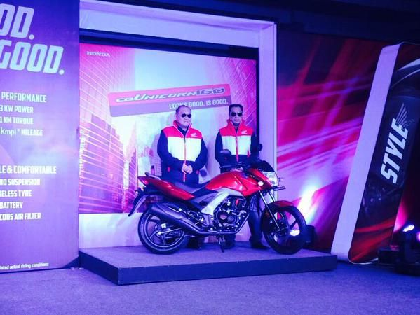 Honda Unicorn 160 cc Launched in India http://blog.gaadikey.com/honda-unicorn-160-cc-launched-india/