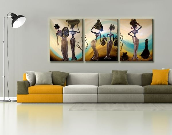 Modern lakásdekoráció vászonképekkel. Cikkszám: AC0110