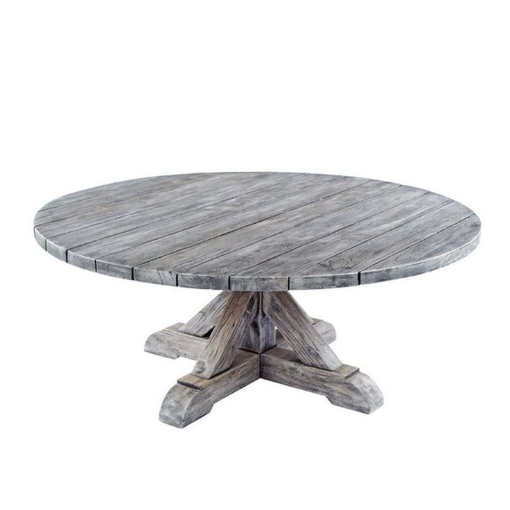 Kingsley bate provence 42 round coffee table authenteak