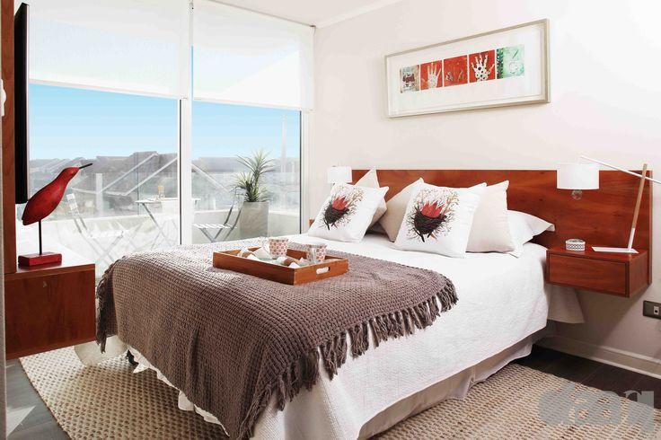 dormitorio piloto el roble  #interiorismo #diseño #decoracion #daarq #bedroom #dormitorio  (Foto: Inmobiliaria Stitchkin)