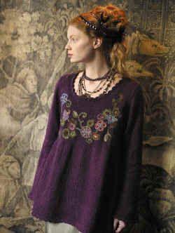 Raphael smock from Rowan Knitting Magazine 44