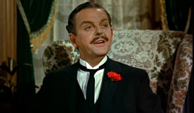 David Tomlinson as George Banks in Mary Poppins (1964).