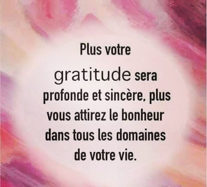 Chaque Jour Dire Merci Gratitude Merci Bonheur