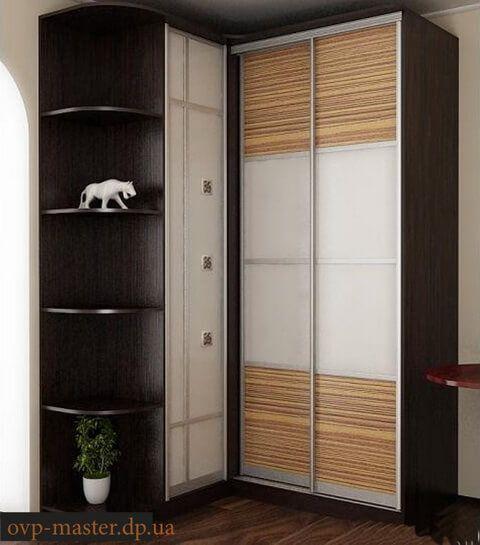 Угловые шкафы-купе: виды и преимущества использования