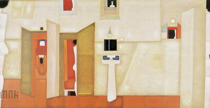 "Jerzy Nowosielski, ""Villa Dei Misteri"" (1975)"