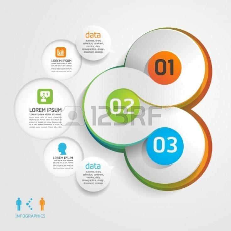 Mod?le de conception moderne / peut ?tre utilis? pour infographie / banni?res / lignes num?rot?es de d?coupe horizontale / layout graphique ou site web Banque d'images