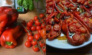 Rachel Roddy's recipe for stuffed peppers | A kitchen in Rome | Life and style | The Guardian