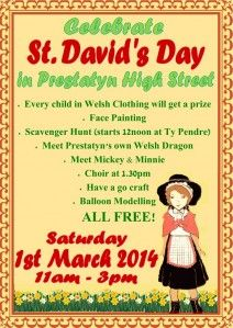 St Davids Day Crafts