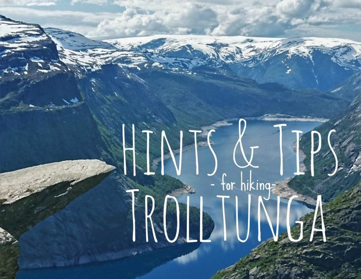 Hints and Tips for hiking Trolltunga.  #trolltunga #norway #tips #advice #hints #hike #solotravel #backpacking #wanderlust #femaletraveller #worldtravel #globetrotter