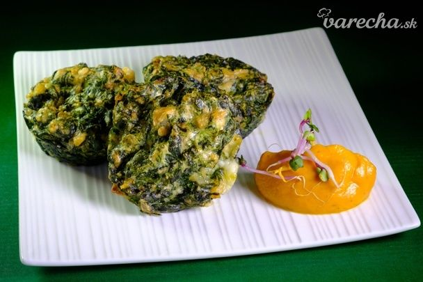 Mozzarellovo-špenátové mafiny (fotorecept)