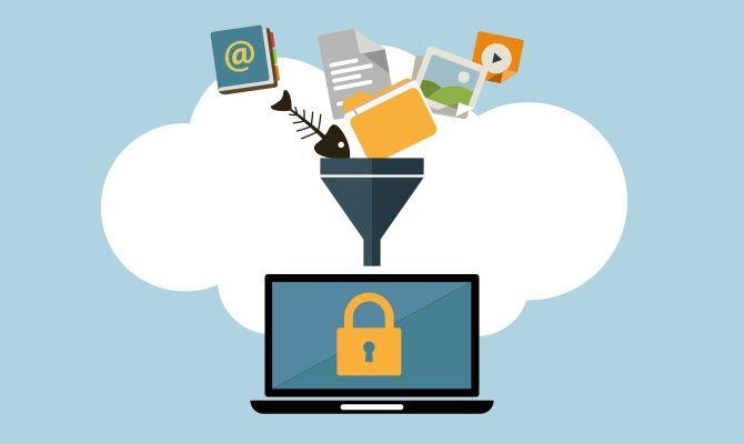Sistem #filtering pada fitur Data Loss Prevention #DLP #eikontechnology