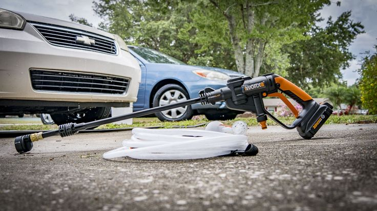 The Worx HydroShot doesn't claim to be a replacement for your pressure washer, but is it versatile enough to justify bringing home?  #Worx #HydroShot #pressurewasher #cleaning #carwash #tools #cordlesstools #DIY  https://www.protoolreviews.com/tools/outdoor-equipment/worx-hydroshot-20v-max-portable-power-cleaner/31530/
