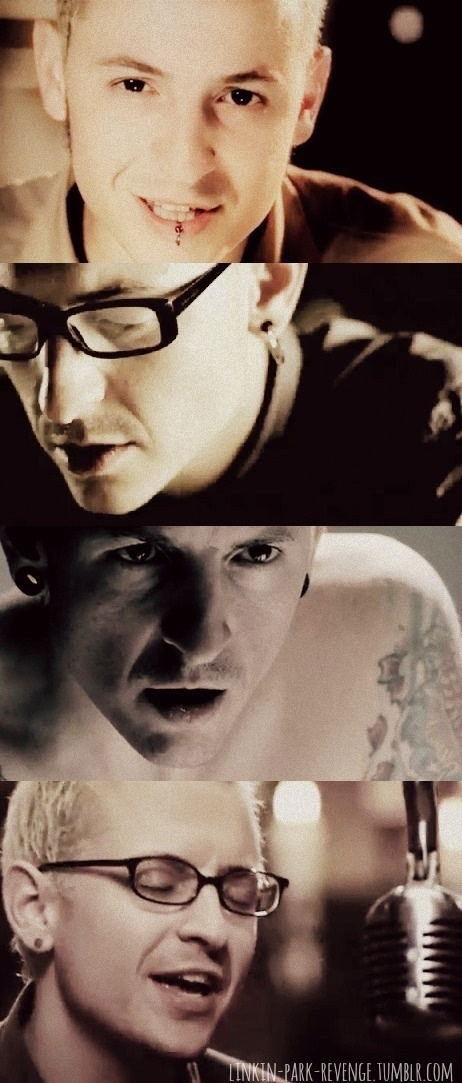 Chester Bennington! I lovedddd him when I was little, and I still do. So gorgeous! <3 And that voice <3 <3