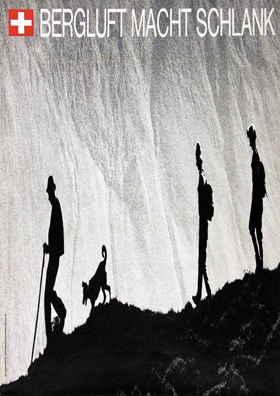 Philipp Giegel 1969 Bergluft macht schlank