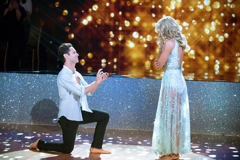 Dancing With the Stars' Emma Slater and Sasha Farber gushed over their engagement, opened up about their relationship and more with Us Weekly — get the details!