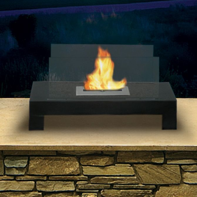 Perfect Anywhere Fireplaces Bio Ethanol Tabletop Fireplace