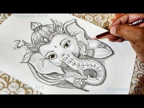 How To Draw Ganpati Bappa God Ganesha Drawing How To Draw Ganesh Ji Step By Step Youtube Ganesha Drawing Art Drawings Sketches Simple Mandala Design Art