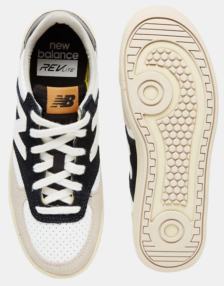 new balance – 420 – perforierte wildleder sneaker in tan