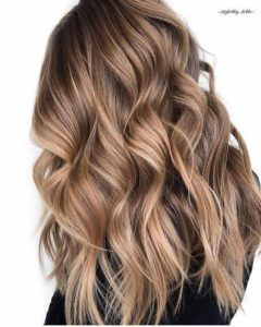 Brown Balayage Hair Color Ideas  #Brown #Balayage