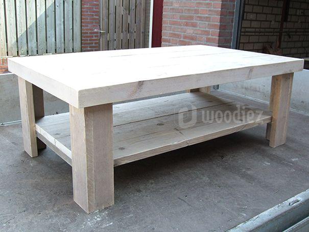WOODIEZ | Steigerhouten salontafel op maat.