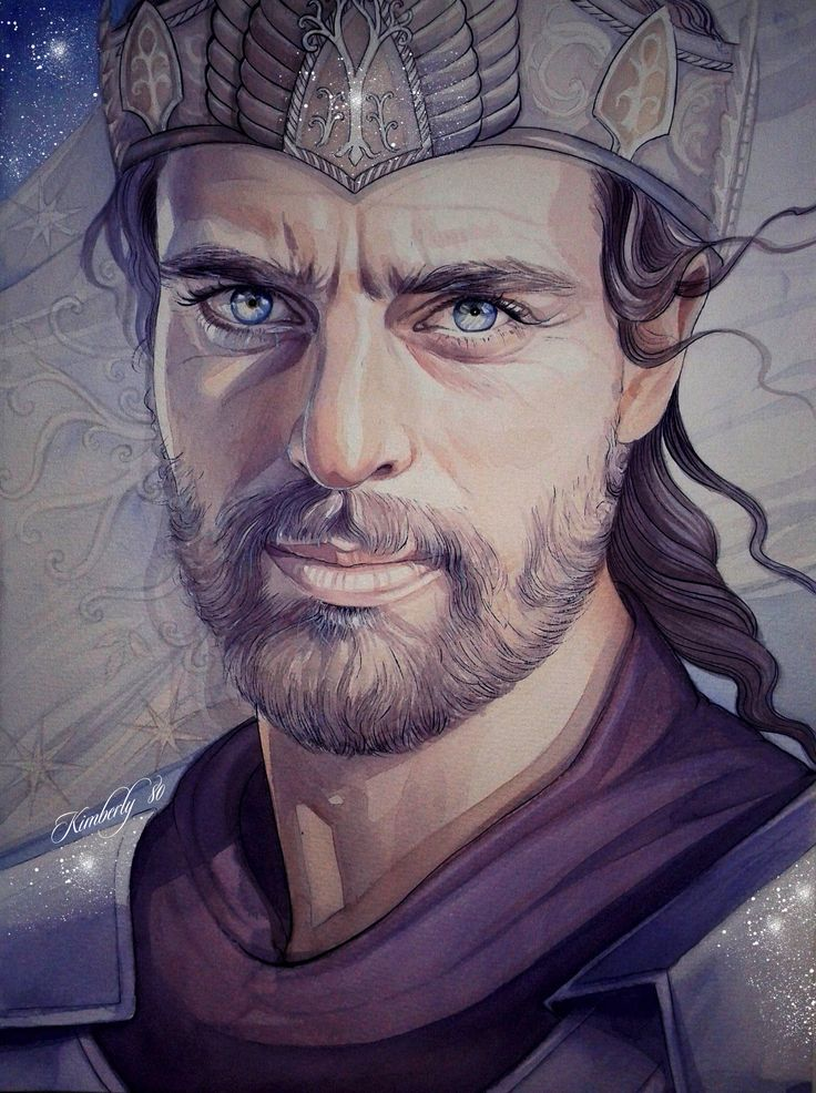 """Elendil -  name actually means """"Devoted to the Stars"""" in Quenya. Elendil was the father of Isildur and Anárion, a survivor of the Downfall of Númenor, and the founder and first King of Arnor and Gondor. Elendil was also known as Elendil the Tall the tallest of Men who escaped the Downfall (mentioned to be 7'11"""" or 2.41 m) Gil-galad and Elendil fought Sauron and cast him down, but were both slain,[3] and Elendil's sword Narsil was broken when he fell."""