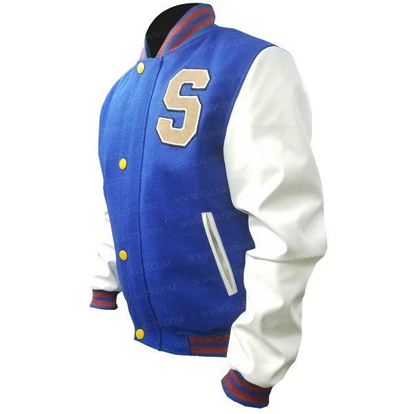 Sonic The Hedgehog Varsity Jacket In 2020 Jackets White Bomber Jacket White Jacket
