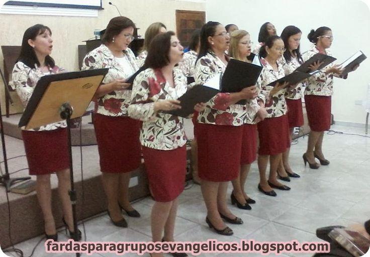 Modelos de fardas para Grupos Evangélicos: Modelo de farda do Círculo de Oração da Igreja Bat...